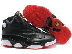 promo code 9bea9 bf64f Air Jordan 13 Retro Womens Black Red