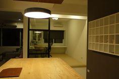 廚房往書房望去。 by Satsuki Lai - DECOmyplace Projects
