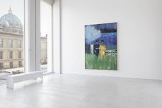 Peter Doig, Installation view - love the colors Peter Doig, Exhibition Room, Modern Art, Contemporary, Art Direction, Illustrations Posters, Original Artwork, Art Gallery, Prints