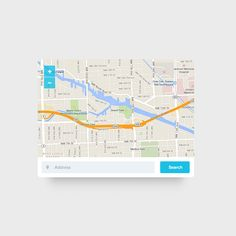 The today freebie is a simple map widget with clean and modern style. Very useful if you want to add it in your website or next app.