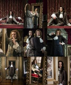 The amazing Alexander Vlahos as Monsieur Philippe Duc D'Orleans & Evan Williams as Chevalier de Lorraine in season 2 of the canal+ series Versailles