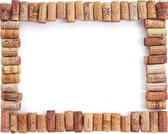 Free Wine Corks PowerPoint Template with white background color