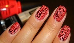Crackle Nail Polish by Katy Perry's OPI Collection Nail Polish Brands, Nail Polish Colors, Polish Nails, Black Nail Designs, Nail Art Designs, Nails Design, Get Nails, Hair And Nails, Opi