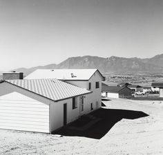 Newly Completed Tract House, Colorado Springs  Robert Adams