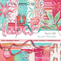 Lucia Kit - Digital Scrapbooking Kits DesignerDigitals