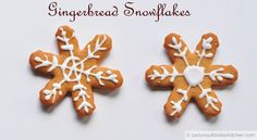 Gingerbread Snowflakes. Add your holiday dessert pins to this board by tagging them with #NYTHoliday and posting a link to them in the comments below. We'll repin you and we'll also publish a selection of your pins on nytimes.com. We look forward to seeing your links below!