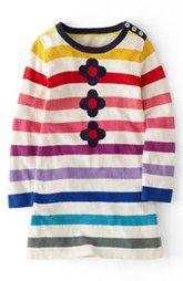 Mini Boden Stripy Knit Dress (Toddler Girls, Little Girls & Big Girls)