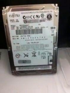 $300 Data Recovery Recovered 100% Data from GigaOne Enclosure Fujitsu 40gb ATA