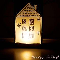 Zimní recy lampion