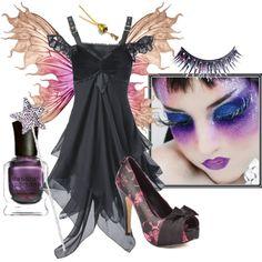 Dark Fairy Halloween Costume