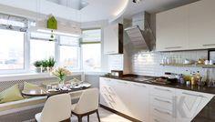 Дизайн кухни в 2-комнатной квартире, Некрасовка Парк - 4