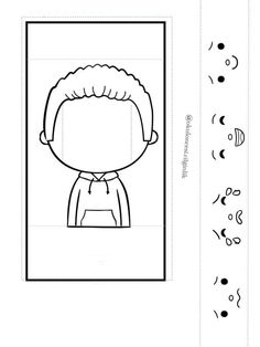Emotions Activities, Preschool Learning Activities, Preschool Kindergarten, Preschool Worksheets, Classroom Activities, Preschool Coloring Pages, Coloring Pages For Girls, Kids English, English Lessons