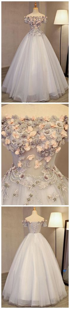 2018 Prom Dresses #2018PromDresses, Prom Dresses A-Line #PromDressesALine