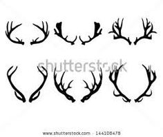 antlers tattoo. antlers can grow back once they've fallen. symbol that even when it feels like everything is lost, you can still rebuild and regrow again.