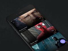TV App UI Inspiration — Muzli -Design Inspiration — Medium