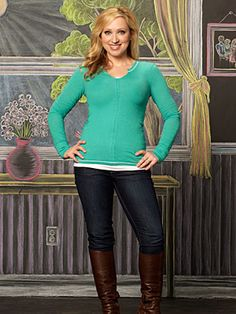 Leigh Allyn Baker- I am so turning into her:) From Good Luck Charlie