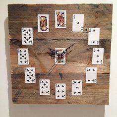 Pallet Wood Clock in Home, Furniture & DIY, Clocks, Wall Clocks | eBay!
