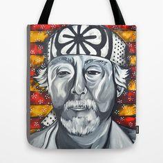 Mr. Miyagi Tote Bag by Portraits on the Periphery   - $22.00