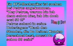 KFZ-Mechaniker - Dies & Das Convenience Store, Jokes, Convinience Store