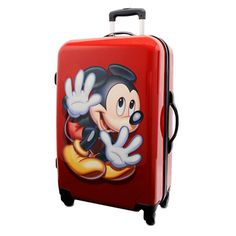 Mickey Mouse Stow-Away Luggage - 26'' | Luggage | Disney Store