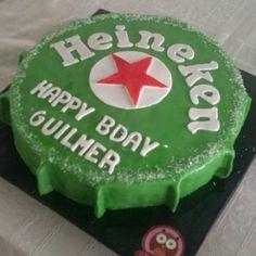 Heineken cake!