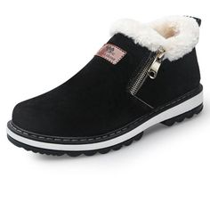 57ea4533d4f Winter Snow Designer Warm Plush Casual Ankle Boots. EgresadasBotas Para ...