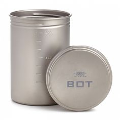 Camp Kitchen - Vargo BOT Bottle Pot *** Check out this great product. 1 Liter Water Bottle, Army Navy Store, Pots, Coleman Camping Stove, Peanut Butter Jar, Best Tents For Camping, Beach Camping, Camping Stuff, Backpacking Food