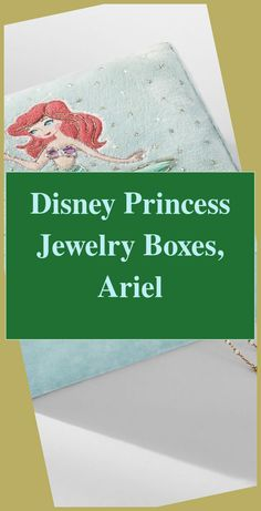Disney Princess Jewelry Boxes, Ariel | Disney Princess Bedding |  Disney Princess Bedroom Toddler   | Diy Princess Bed Plans | Princess Decor For Birthday Party. #interiordesign #Jewelry Boxes Teenage Girl Bedrooms, Girls Bedroom, Disney Princess Bedding, Princess Jewelry, Ariel Disney, Disney Jewelry, Bed Plans, Jewelry Box, Boxes