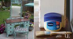 Πώς να δώσετε παλαιωμένη όψη σε ξύλο με τη βοήθεια βαζελίνης! {ΒΙΝΤΕΟ} + 30 φανταστικές ιδέες!