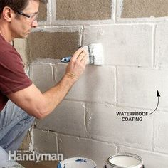 PART 3. DIY water leaks in basement.        http://www.familyhandyman.com/basement/affordable-wet-basement-solutions/view-all?pmcode=IDFEC073&_mid=2415606&_rid=2415606.1003635.286323#step7