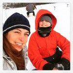 Look du jour! Le bonheur j'vous dit! #pêche #fishing #sport #nature @regionbm @cantonsdelest #quebec #photo #mommyblogger #travelblogger #hiver #winter