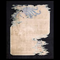 Chinese Art Deco rug circa 1920
