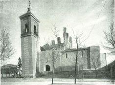 Alcalá de Henares.—Ruinas de la iglesia de Santa María la Mayor, donde fué bautizado CERVANTES. Así estaban el 9 de Diciembre de 1940, fecha de la fotografía.