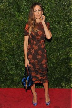 Sarah Jessica Parker Fashion and Style - Sarah Jessica Parker Dress, Clothes, Hairstyle