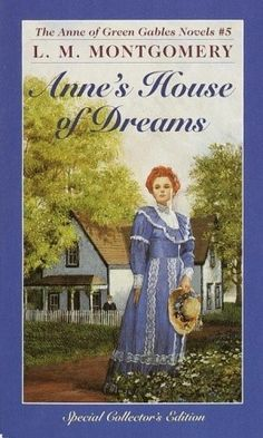 Anne's House of Dreams (Anne of Green Gables, #5)  Anne's own true love, Gilbert Blythe, is finally a doctor, and in the sunshine of the old orchard, among their dearest friends, they are about to speak their vows. Soon the happy couple will be bound for a new life together and their own dream house, on the misty purple shores of Four Winds Harbor.    A new life means fresh problems to solve, fresh surprises. Anne and Gilbert will make new friends and meet their neighbors