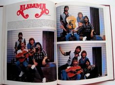 Remember when Alabama was your favorite country music group? Walk down memory lane with this concert memorabilia book.