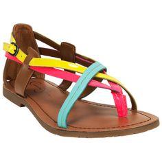 Jessica Simpson, 'Jamila' Sandals. Love the colors!