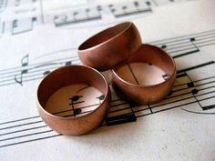 Hey, I found this really awesome Etsy listing at https://www.etsy.com/listing/105226116/1-pc-solid-copper-domed-heavy-gauge-ring