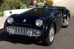1961 Triumph TR3A FRont
