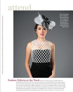 Hair by Deena for Ranch and Coast Magizine cover and editorial. The question is. what to wear for a day at The Del Mar Races Opening Day!!
