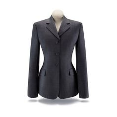 Hitching Post Tack Shop - RJ Classics Prestige Collection Ladies Show Coat- Grey Plaid Stretch - D8369-Clearance, $144.95 (http://www.hitchingposttack.com/products/rj-classics-prestige-collection-ladies-show-coat-grey-plaid-stretch-d8369-clearance.html)