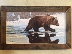 """""""Kodiak Collaboration"""" Painting by Daniel Smith. Made in Montana. Featured at Homestead89 Furniture Art & Design Gallery."""