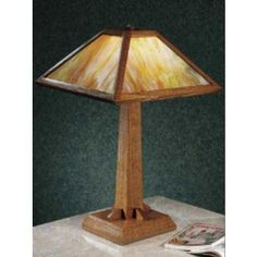 Woodworker's Journal Prairie Style Lamp Plan | Rockler Woodworking and Hardware