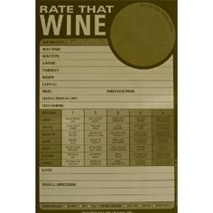 wine tasting journal template - 1000 images about score cards on pinterest scores