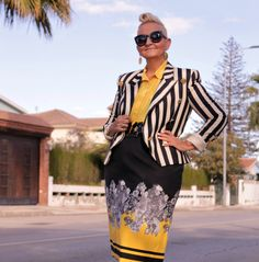 Escada Jacket by the Palm Trees   MIS PAPELICOS