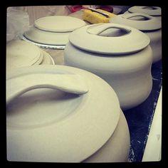 Strapped #handles #ceramics #pottery #portland