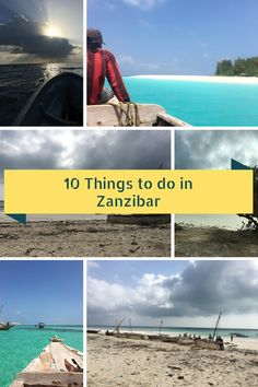 Top 10 things to do and see in Zanzibar