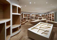 Tokyo's Tokyo comic book store Ryo Matsui Architects