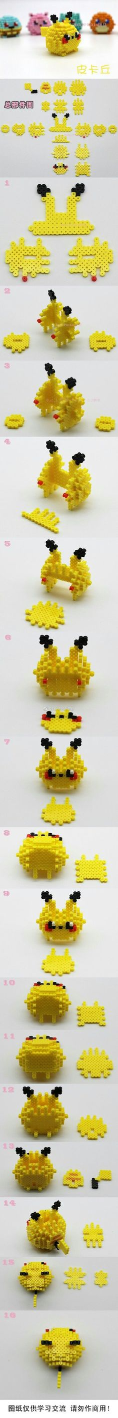 3d pikachu pokemon