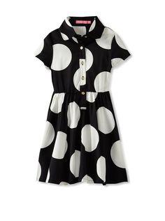 Isaac Mizrahi Girl's Polka Dot Dress at MYHABIT